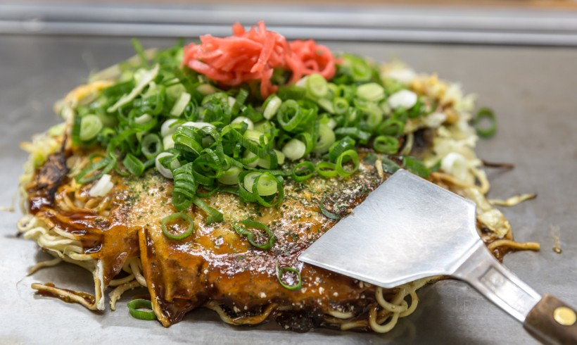Okonomyaki – Pizza Japonesa